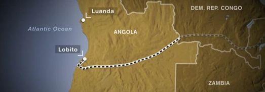 Caminho-de-ferro de Benguela, do Lobito ao Luau